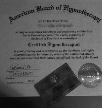 hypnotherapycertificate